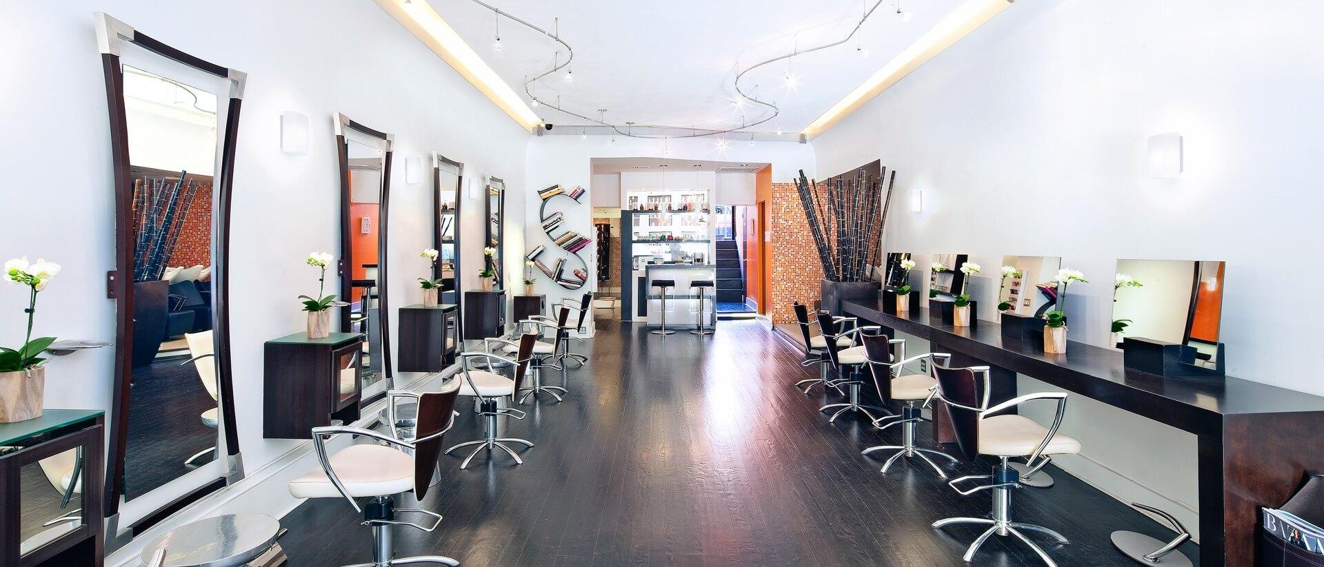 Fabio Scalia Salon Brooklyn New York interior