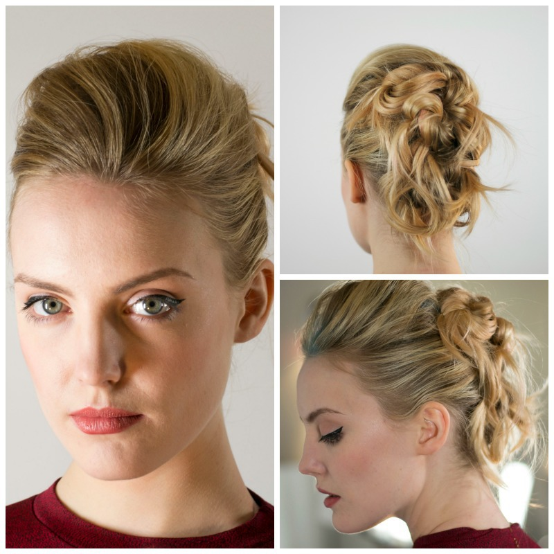 How to create a funky and edgy up-do with Fabio Scalia Salon's Theresa Belloni