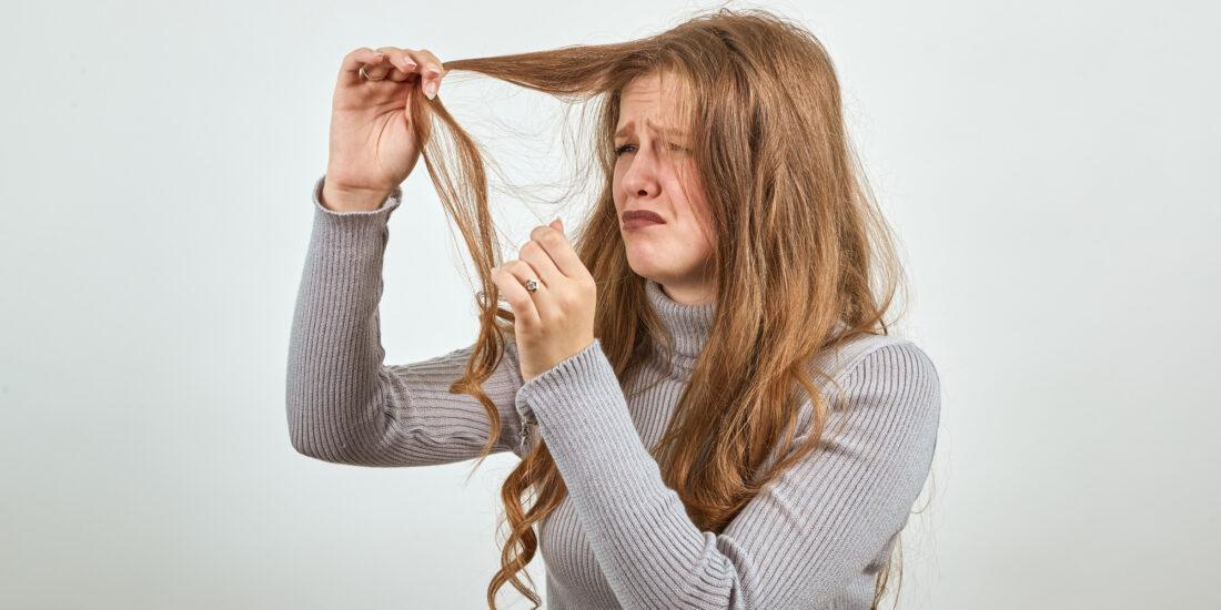 dry brittle hair